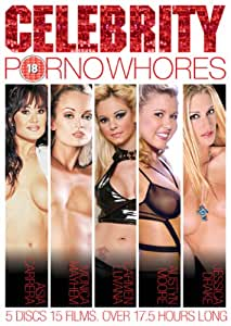 Celebrity Porno Whores box set (15 Films, 5 disc set) [DVD]
