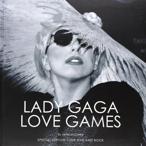 Lady-Gaga-Love-Games-4-DVD-Deluxe-Edition-im-Buchformat-Special-Edition