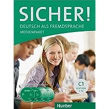 Sicher! C1: 2 Audio-CDs und 2 DVDs zum Kursbuch.Deutsch als Fremdsprache / Medienpaket