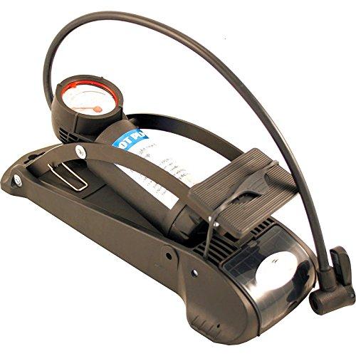 Fußluftpumpe Luftpumpe BETO A mit MANOMETRO Sicherheitsventil Schrader Presta Fahrrad 3369
