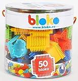 BLOKO - Tube de 50 'BLOKO' - Dès 12 mois - Jouet de construction