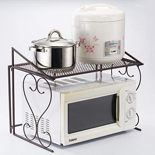 Mikrowelle Oven Shelf,küche Rack,Desktop Reis Kocher Würze Lagerung-Rack,doppelofen-Rega
