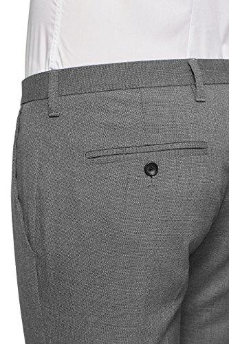 next Homme Pantalon skinny à carreaux coupe standard Gris