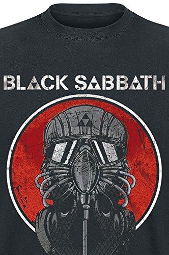 Black Sabbath Live 2014 T-Shirt schwarz Schwarz
