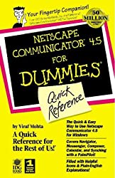 Netscape Communicator 5 for Dummies Quick Reference