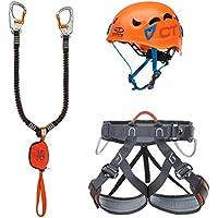 Climbing Technology Kit FERRATA Plus Galaxy Set Ferrata, Multicolore, Taglia Unica