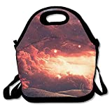 Best Kids Lunches On The Planets - ALKCOMT Lunch Boxes,Fantasy Planet Lunch Tote-Personalized Lunch Bags Review