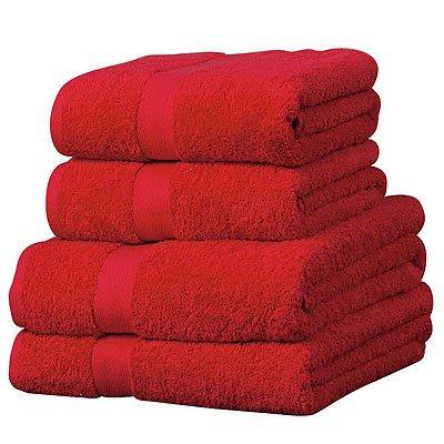 linens-limited-serviette-de-bain-luxor-en-coton-gyptien-600-g-m-rouge