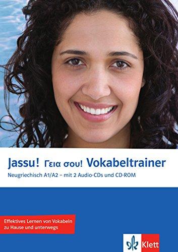 Jassu! A1/A2 Vokabeltrainer: Neugriechisch für Anfänger. Vokabelheft + 2 Audio-CDs + CD-ROM (PC/Mac) (Jassu! / Neugriechisch für Anfänger)