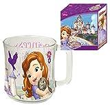 Tazza in vetro principessa Sofia. Stupenda tazza in vetro Eroine di principessa Sofia. Dimensioni: 11,7x 8x10cm lavastoviglie. Vetro molto resistente.