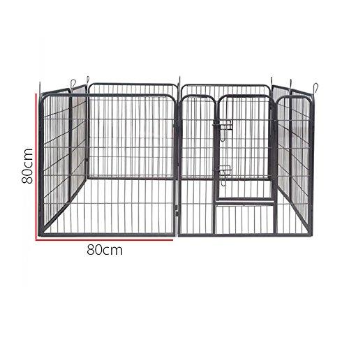 Recinzione Per Cani Giardino.Aqpet Recinto Recinzione Box Per Animali Cani Gatti Roditori