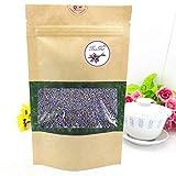 TooGet Natürliche Lavendel-Blumen erstklassiger Grad getrocknete Lavendel-Knospen vervollkommnen für Tee, Kissen, Backen, Limonade, Bäder. Frischer Duft - 115g