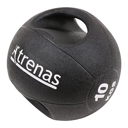 TRENAS PRO Balón medicinal con asas - 10 kg