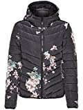 JACQUELINE de YONG Blouson Steppjacke Blumen JDYNEW Jacket 15146377 Black Gr. M