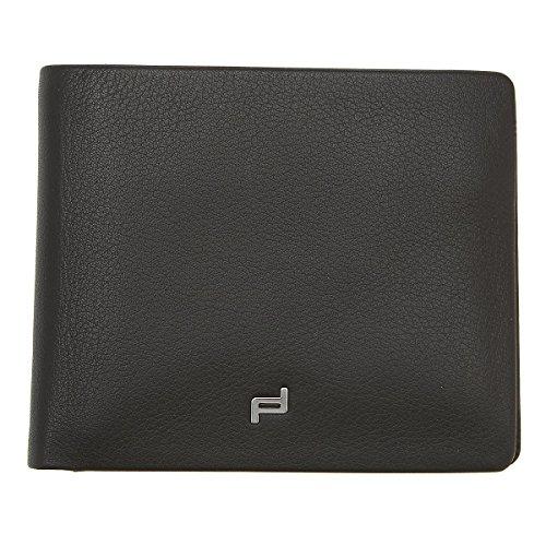 Porsche Design Touch CardHolder H8 4090001720 Herren Ausweis- & Kartenhüllen 11x9x1 cm (B x H x T), Schwarz (black 900)