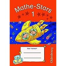 Mathe-Stars - Regelkurs: 1. Schuljahr - Übungsheft: Mit Lösungen