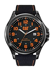 CAT WATCHES Men's PU16161114 Operator Analog Display Quartz Black Watch