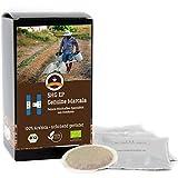 Big Päck - Kaffee Globetrotter - Honduras Genuine Marcala - Bio - 150 Premium Kaffeepads - für Senseo Kaffeemaschine - Spitzenkaffee - Röstkaffee aus biologischem Anbau