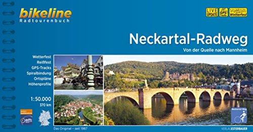 Neckartal Radweg von der Quelle nach Mannheim 2018
