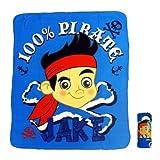 Jake und die Nimmerland Piraten - Kuscheldecke Jake Decke 120x140cm