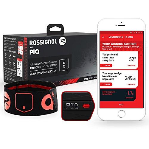 PIQ BSKI1 Ski Set Multisport Sensor, Skitag Aufzeichnen, Schwung und Sprunganalyse, Fordere Freunde heraus