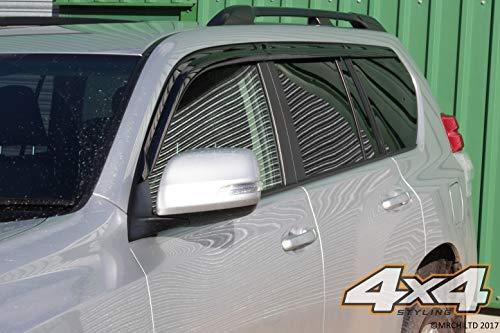 Autoclover Ensemble de Déflecteurs d'air pour Toyota Land Cruiser 150 2009-2015 (6 pièces)