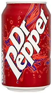 Dr Pepper Soft Drink Can 330 ml (Pack of 24) (B0051GNI2A) | Amazon price tracker / tracking, Amazon price history charts, Amazon price watches, Amazon price drop alerts