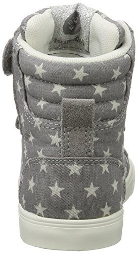 Hummel Slimmer Stadil Star Jr, Sneakers Hautes Mixte Enfant Gris (Grey)