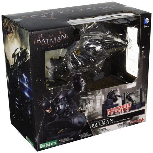 Kotobukiya KotSV128 - DC Comics Batman Arkham ArtFX Knight Series - Scale 1 / 10 Diorama 25 cm