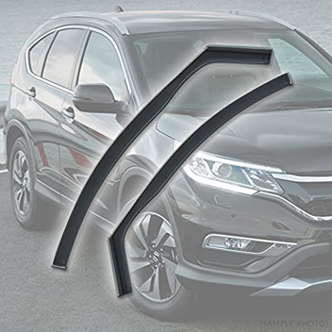 Honda CR-V (2001 to 2006 4DR FRONTS) Wind Deflectors Rain Wind Window Deflectors