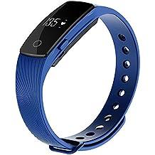 Zomtop ID107 Bluetooth 4.0 pulsera inteligente SmartBand monitor del ritmo cardíaco Muñequera rastreador de ejercicios para
