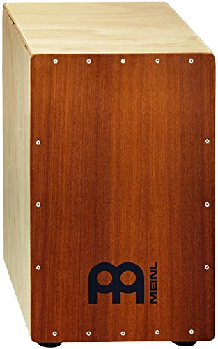 MEINL PERCUSSION HCAJ1MH-M - CAJON CON PARCHE NATURAL COLOR PLATEADO