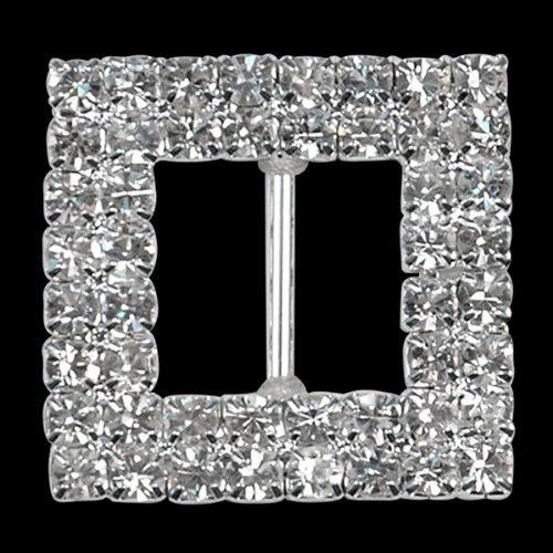 expo-bkl1407cr-square-double-row-rhinestone-buckle
