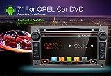 Android 6.0Quad Core 7pulgadas GPS coche reproductor de DVD para Opel Astra Vectra Zafira Antara Corsa Radio Navegación estéreo Audio y vídeo Canbus y gris libre cámara y tarjeta de mapa de color