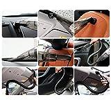 Uvistar Klein Autostaubsauger 12V für Hundehaare Tierhaare, Leise Nass Trockensauger mit Zubehör, Stark Leistung Staubsauger Pumpe Dustbuster, Beutellos mini Set mit Kabel, Handheld - 2