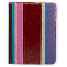 Gecko funda Slim Fit Para Kobo Aura _ Parent rojo Red - Echtleder Fashion rot / pink Kobo Aura HD