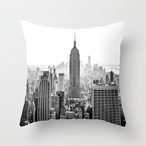 Kissenbezug New York City, Dekorativer Gemälde- Kissenbezug, 45 x 45 cm, Geschenke für Freunde - New York Werfen