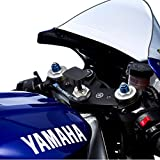 UltimateAddons Halterung und Adapterplatte zur Befestigung einer GoPro Hero Action-Kamera am Motorradlenker-Gabelschaft