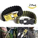 Best Paracord Bracelets - BASON paracord bracelet homme,bracelet survie,Survie en plein air Review