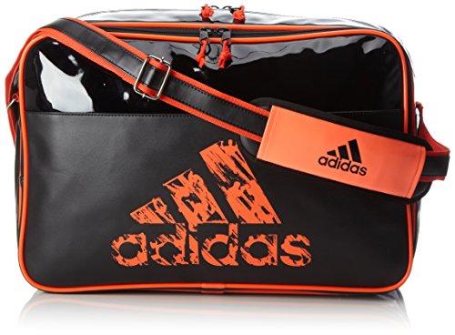 Adidas - Borsa Leisure Messenger Con Tracolla L Nero/Solar Orange