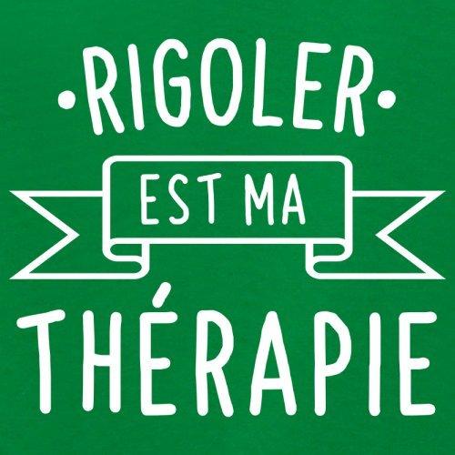 Rigoler est ma thérapie - Femme T-Shirt - 14 couleur Vert