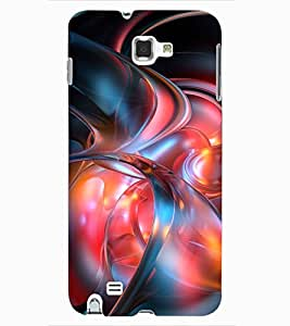 ColourCraft Abstract Image Design Back Case Cover for SAMSUNG GALAXY NOTE 1