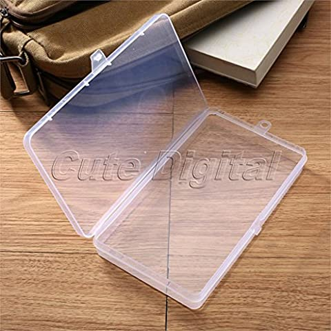 SunHug£¨TM) Makeup Storage Box Jewelry Container Small Clear Plastic Box