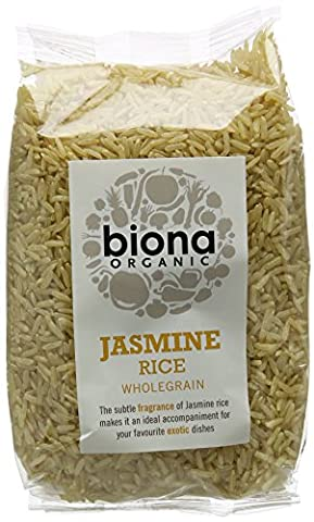 Biona Organic Jasmine Rice 500 g (Pack of