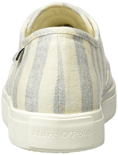Marc O'Polo 70213943501620 Sneaker, Sneakers basses femme Mehrfarbig (grey/sand)