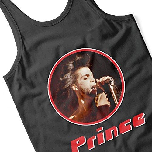 Prince Wild Retro Photo Frame Women's Vest Black