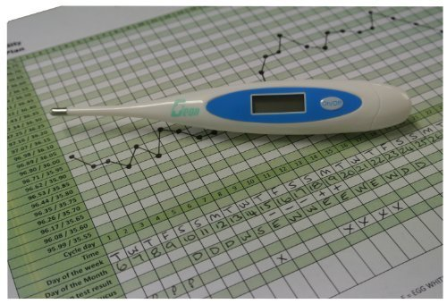 Geon/ Home Health Centigrade Digital Ovulation Basal Thermometer Plus F.O.C. Fertility Chart by Geon/Home Health by Geon/Home Health