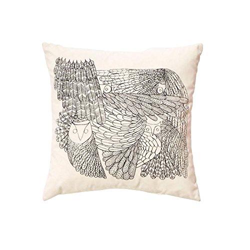 Price comparison product image Owl Cushion beige / Kvadrat Remix fabric 2 / 47x47cm