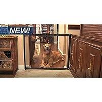 Mascotas Guardia de Seguridad Diseño Creativo Mascotas Portátiles Perro Gato Aislado Gasa Plegable Puerta Mantener Distancia para Sus Mascotas De Cocina O Mascotas Al Aire Libre Herramientas