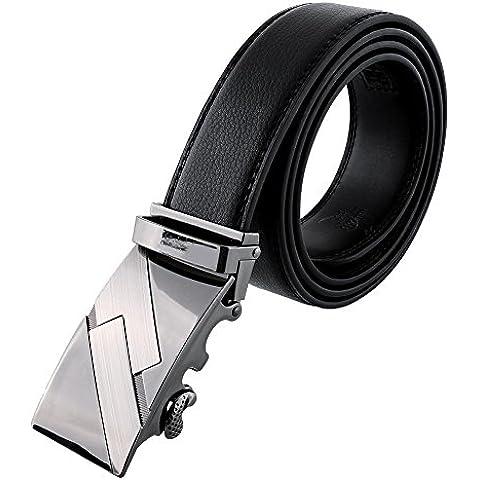 Cackss Cinturones de hombre negocios longitud 120 cm (D2027)